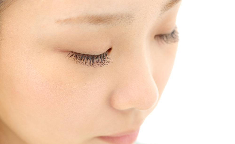 Beautiful,Young,Woman,Eyelash,Extension